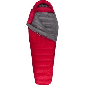 Sea to Summit Alpine AP II Sovepose Lang, rød/grå
